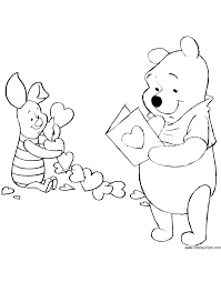Small Picture Coloring Page Disney Valentine Coloring Pages Coloring Page and