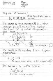 integrating writing and mathematics reading rockets writing out revision