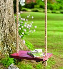 Small Picture Amazoncom Plow Hearth Durable Hanging Rope Tree Swing with