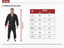 Flow Kimonos Size Chart Fuji Gi Size Chart Awesome Venum Gi Size Chart Lovely Venum