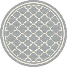 round outdoor rug 8 round gray tile indoor outdoor rug garden city furniture round outdoor rug