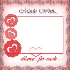 custom frames online. Personalize Made With Love For Each Other Photo Frame Online Custom Frames