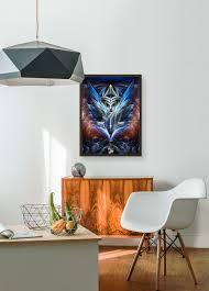 designing girls bedroom furniture fractal. Enchantment Of Universality Fractal Art Portrait With Floating Frame Designing Girls Bedroom Furniture