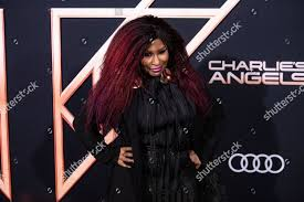 Charlie S Hair Design Chaka Khan Poses On Red Carpet During Editorial Stock Photo