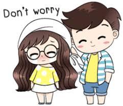 Cute Couple Png Boobib Cute Couple By B B Design Sticker 11124650