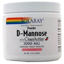 Solaray <b>D</b>-<b>Mannose with CranActin Powder</b> on sale at AllStarHealth ...