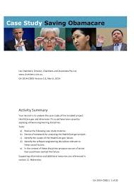 Saving Obamacare Case Study