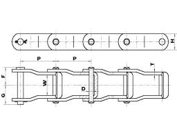 Steel Chain Strength Chart Pintle Chain High Strength Pintle Chain Made Of Steel