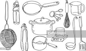 kitchen utensils drawing. Kitchen Utensils Drawing E
