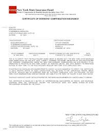 workers comp certificate ohio