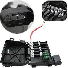 hot new car fuse box black fuse box battery terminal metal plastic hot new car fuse box black fuse box battery terminal metal plastic parts number 1j0937617d