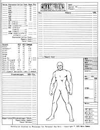 hero forge character sheet theystolefraziersbrain july 2010