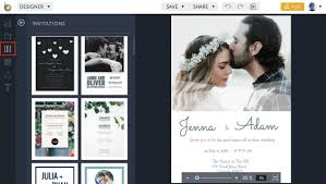 free wedding invitation templates in befunky