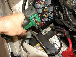 sparky s answers chevrolet impala changing the battery care must be taken when removing the positive cable since it is hot and will be during the entire process remember the secondary battery that was installed