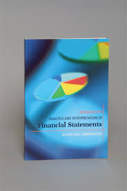 Financial Report Cover Page Analysis And Interpretation Of Financial Statements Juta