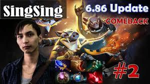 singsing techies pro gameplay comeback dota 2 mmr 2 youtube