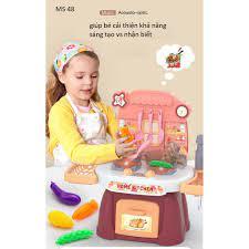 giá rẻ nhất)Bộ đồ chơi nấu ăn - nhà bếp cho bé có vòi nước MINI KITCHEN 24  tri tiết tại TP. Hồ Chí Minh