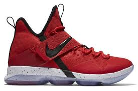 lebron shoes 2017. name:nike lebron xiv color:university red/black-white style:852405-600. release date:03/25/2017. price:$175. exclusive:limited [detailed photos] lebron shoes 2017