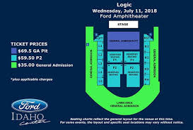 Seating Chart Ford Idaho Center Events Logic Presents Bobby Tarantino Vs Everybody Tour