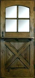 wood dutch door on back to screened in porch w shelf solid interior sol exterior doors wood dutch door