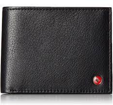 Mens Designer Card Case Alpine Swiss Rfid Mens Thin Minimalist Id Card Case Slim Front Pocket Wallets 4 Top Styles