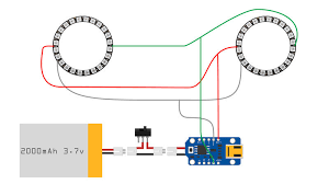 circuit diagram 3d printed daft punk helmet with bluetooth circuit diagram maker Circuit Diagram #33