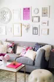 Purple And Grey Living Room Decorating Home Decor Living Room Styles A Business And Grey