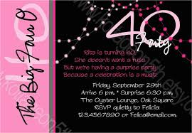 40th Birthday Invitations Free Templates 40th Birthday Party Invites Free Templates 40th Birthday