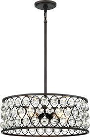 stupendous bronze drum chandelier 5 light crystal drum chandelier ceiling home improvement s open