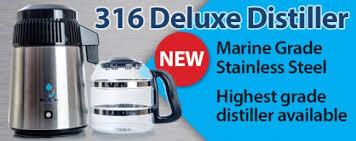 316 deluxe water distiller glass jug