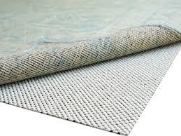 super lock natural rubber rug pads by rugpadusa felt rubber rug pad