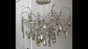 crystal chandelier blush pink