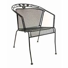 AAA Furniture MMC 1 Outdoor Restaurant Patio Chair w Mesh Metal