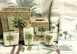 palm tree bath sets palm tree bath decor palm tree bath towel sets palm tree bath