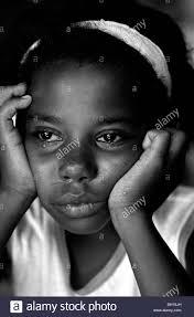African american girl crying