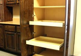 diy pull out shelves build pull out shelves diy tutorial how to make pull out shelves