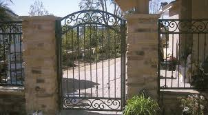 wrought iron fence gate. Fine Gate Custom Iron Fence Gate In Wrought E