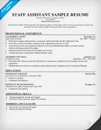 Resume For Staff Assistant MacFixer