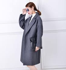 oversized wool coat with quilting winter warm trench coats abrigos mujer grey camel long thick women wool coats plus size jpg
