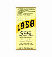 Einladungskarten 60 Geburtstag Frau Einzigartig Neu 60 Geburtstag