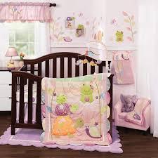 puddles 4 piece baby crib bedding set