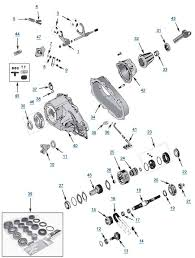 YJ_NP231 jeep yj wrangler np231 transfer case free shipping at 4wd com on bulb as well 2007 jeep grand cherokee backup camera wiring diagram