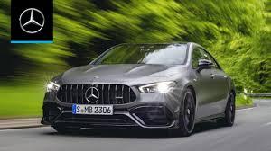 El nuevo gla 45 s 4matic+ 2020, apasiona con una dinámica de conducción impresionante. Mercedes Amg Cla 45 S 4matic Coupe 2020 World Premiere Trailer Youtube