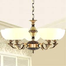 idea chandeliers and vintage brass chandelier 5 light glass shade antique chandeliers 1 89