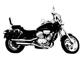 Kleurplaat Motor Honda Magna Afb 27995 Images