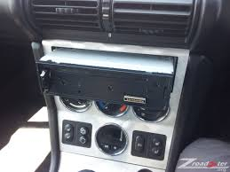 bmw z radio head unit removal and replacement bmw z z z z before fully inserting the unit it is sensible to test it first i powered the unit on and checked the radio signal and that a cd could be played