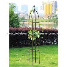 china garden iron trellis on global