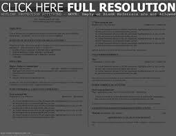 Example Of Bartender Resume Templates Server Unnamed Fil Saneme