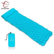 air mattress sleeping bag.  Sleeping Backpack Air Mattresses Sleeping Pad Camping Bag Ultralight U0026 Compact  Inflatable  EBay And Mattress T