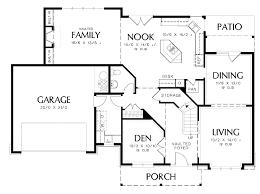 One Story House Plans With Bonus Room   VAline Bedroom House Plans   Bonus Room
